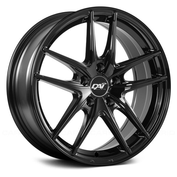 DAI ALLOYS DW60 APEX Wheels Gloss Black Rims DW6015007D Impressive 5x105 Bolt Pattern