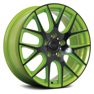 DAI ALLOYS® - AUTOBAHN Green with Gloss Black Face