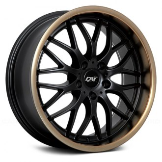 DAI ALLOYS® - PASSION Gloss Black with Bronze Lip