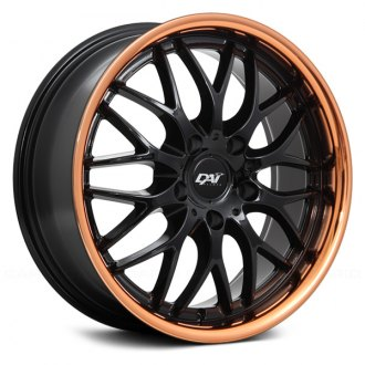 DAI ALLOYS® - PASSION Gloss Black with Rose Gold Lip