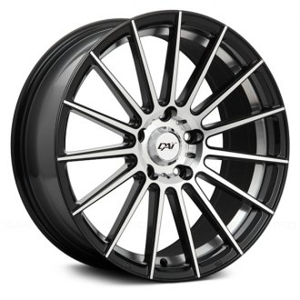 DAI ALLOYS® - RADICAL Gloss Black with Machined Face and Undercut