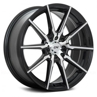 DAI ALLOYS® - DW97 RAZE Gloss Black with Machined Face
