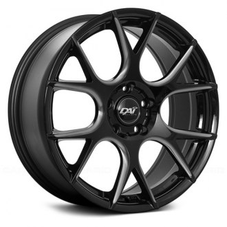 DAI ALLOYS® - VENOM Gloss Black with Milled Accents