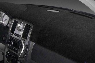 Dash Designs® - Dash-Topper™ Brushed Suede Black Dash Cover