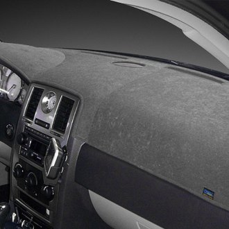 Dash Designs® - Dash-Topper™ Brushed Suede Charcoal Dash Cover