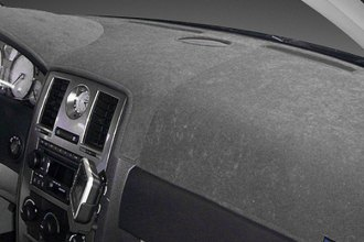 Dash Designs® D1844-0-BCH - Brushed Suede Charcoal Dash Cover