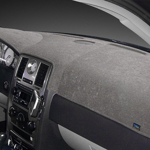 Image may not reflect your exact vehicle! Dash Designs® - Brushed Suede Gray Dash Cover