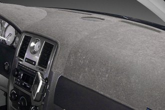 Dash Designs® DT1405-0-BGY - Dash-Topper™ Brushed Suede Gray Dash Cover