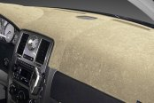 Image may not reflect your exact vehicle! Dash Designs® - Brushed Suede Mocha Dash Cover