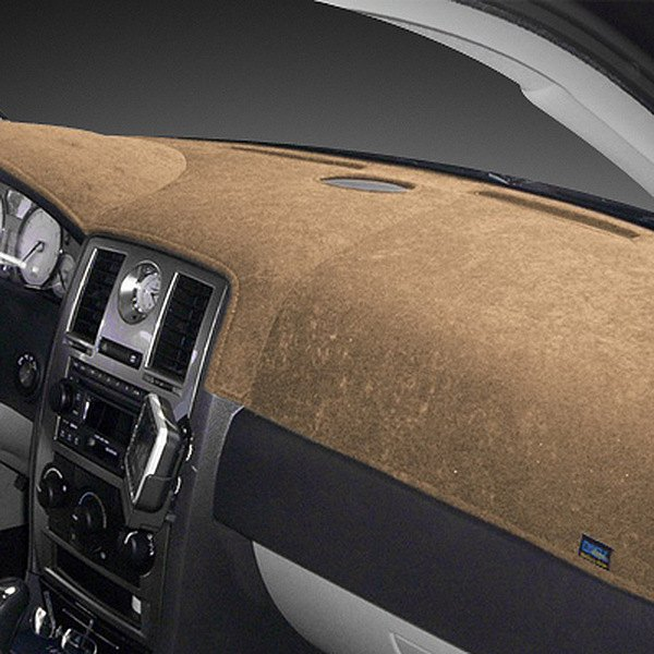 Image may not reflect your exact vehicle! Dash Designs® - Brushed Suede Oak Dash Cover