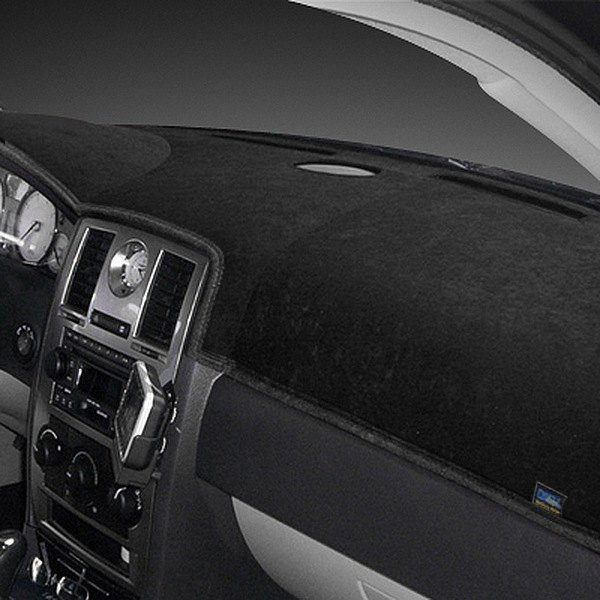 Dash Designs® - Dash-Topper™ Brushed Suede™ Black Dash Cover