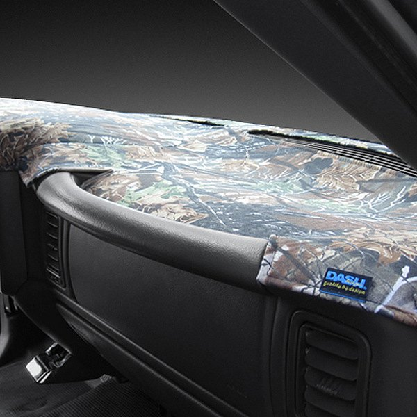 Image may not reflect your exact vehicle! Dash Designs® - Camo Game Dash Cover