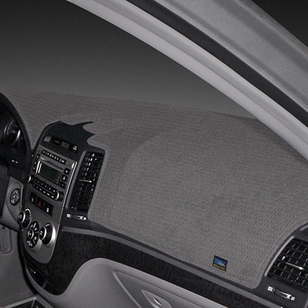 Image may not reflect your exact vehicle! Dash Designs® - Dashtex™ Gray Dash Cover