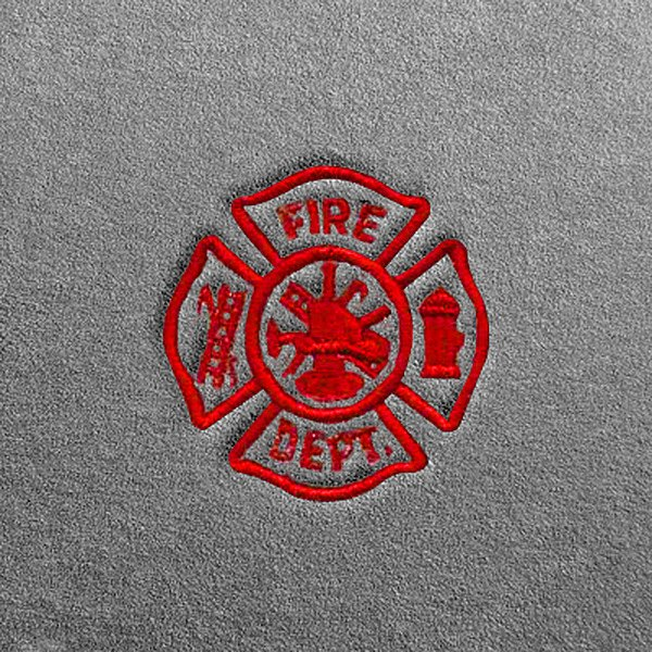 Dash Designs Lg185 Firefighters Embroidery Logo