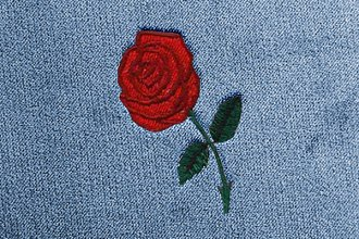 Dash Designs® LG188 - Red Rose Embroidered Logo