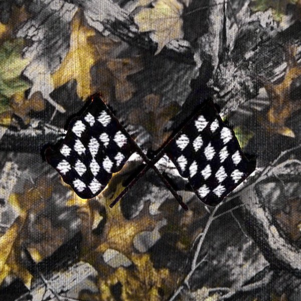 Dash Designs® - Checkered Flag Embroidered Logo