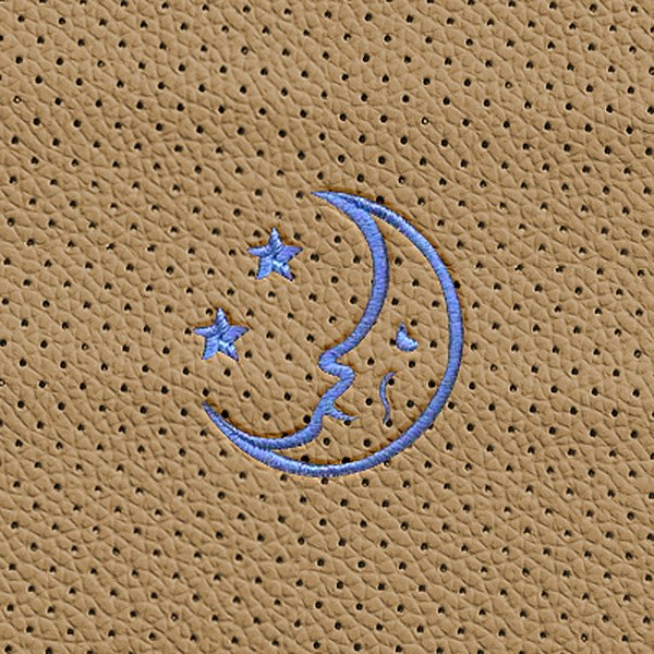 Dash Designs® - Moon Stars Embroidered Logo