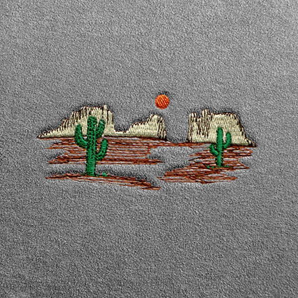 Dash Designs® - Desert Embroidered Logo
