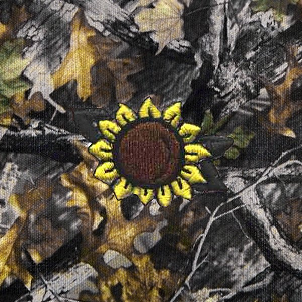 Dash Designs® - Sun Flower Embroidered Logo