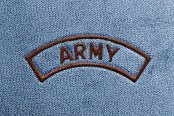 Dash Designs® - Army Embroidered Logo
