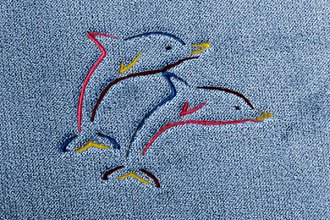 Dash Designs® LG271 - Dolphins Embroidered Logo