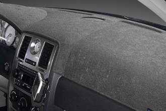 Dash Designs® - Dash-Topper™ Plush Velour Charcoal Dash Cover (With Climat Control)