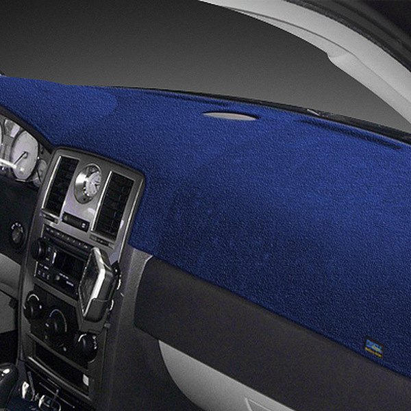 Dash Designs® - Plush Velour™ Dark Blue Dash Cover
