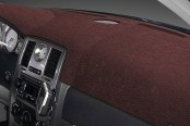 Image may not reflect your exact vehicle! Dash Designs® - Plush Velour Dark Brown Dash Cover