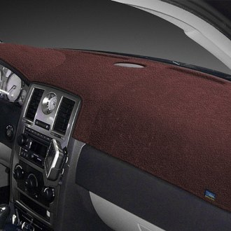 Image may not reflect your exact vehicle! Dash Designs® - Dash-Topper™ Plush Velour Dark Brown Dash Cover