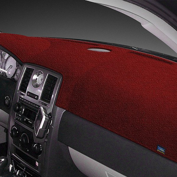 Dash Designs® - Plush Velour™ Maroon Dash Cover