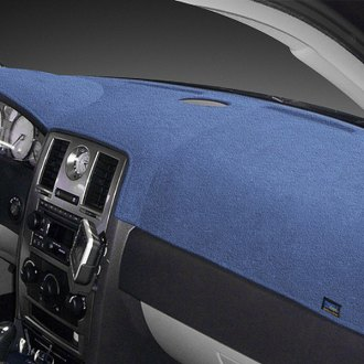 Dash Designs® - Plush Velour™ Medium Blue Dash Cover