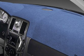 Dash Designs® - Dash-Topper™ Plush Velour Medium Blue Dash Cover (Without Climate Control)