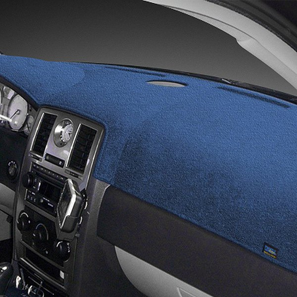Dash Designs® - Plush Velour™ Ocean Blue Dash Cover