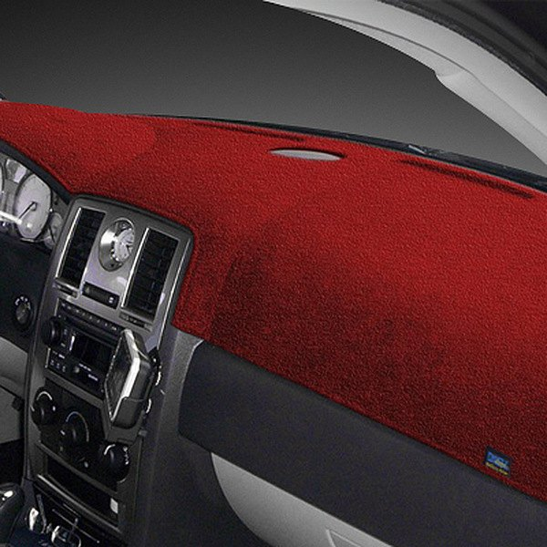 Dash Designs® - Plush Velour™ Red Dash Cover