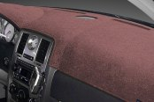 Image may not reflect your exact vehicle! Dash Designs® - Plush Velour Taupe Dash Cover