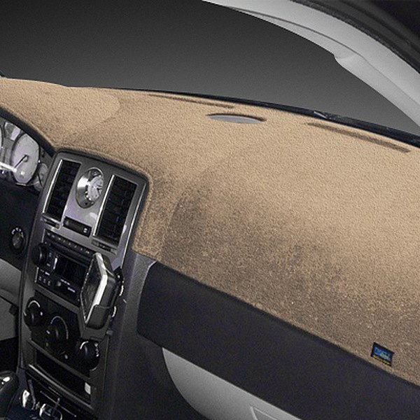 Image may not reflect your exact vehicle! Dash Designs® - Plush Velour Vanilla Dash Cover