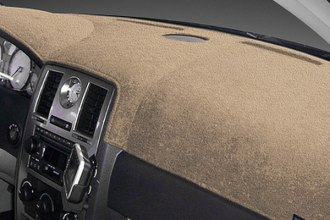 Dash Designs® - Dash-Topper™ Plush Velour Vanilla Dash Cover (With Climat Control)