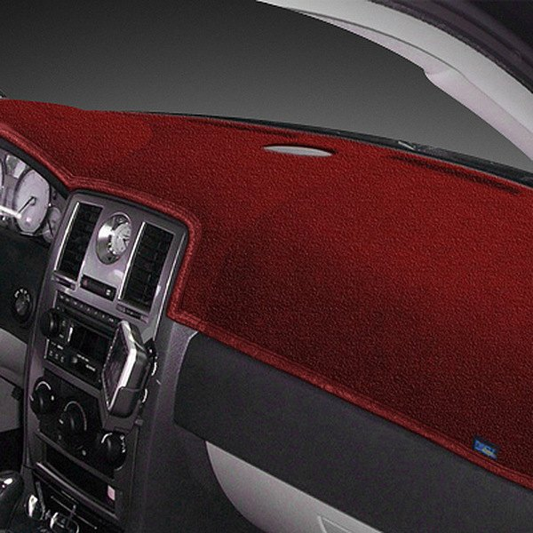 Dash Designs® - Dash-Topper™ Plush Velour™ Maroon Dash Cover