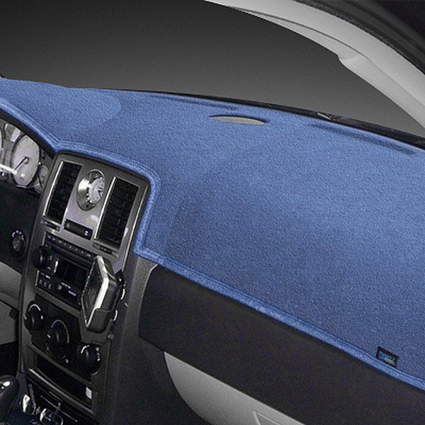 Dash Designs® - Dash-Topper™ Plush Velour™ Medium Blue Dash Cover