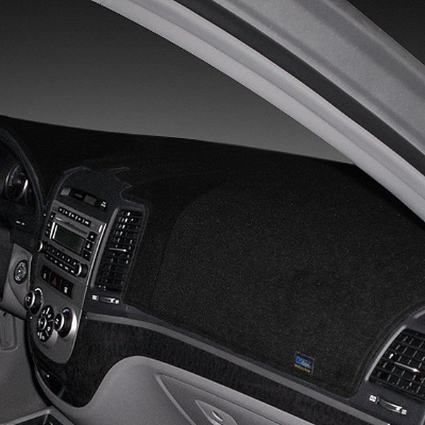Image may not reflect your exact vehicle! Dash Designs® - Poly Carpet Black Dash Cover