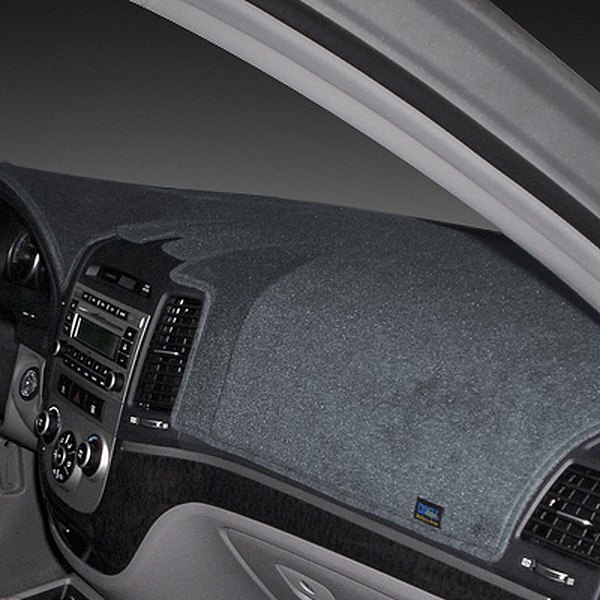 Image may not reflect your exact vehicle! Dash Designs® - Poly Carpet Charcoal Dash Cover