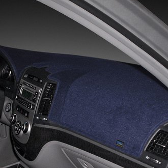 Image may not reflect your exact vehicle! Dash Designs® - Poly Carpet Dark Blue Dash Cover