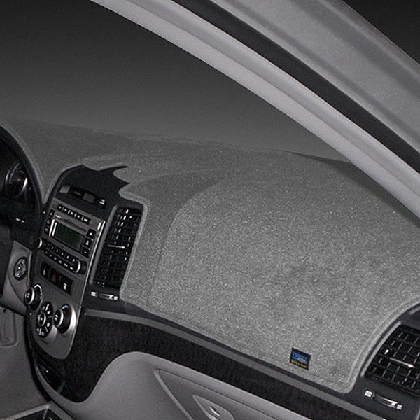 Image may not reflect your exact vehicle! Dash Designs® - Poly-Carpet™ Gray Dash Cover
