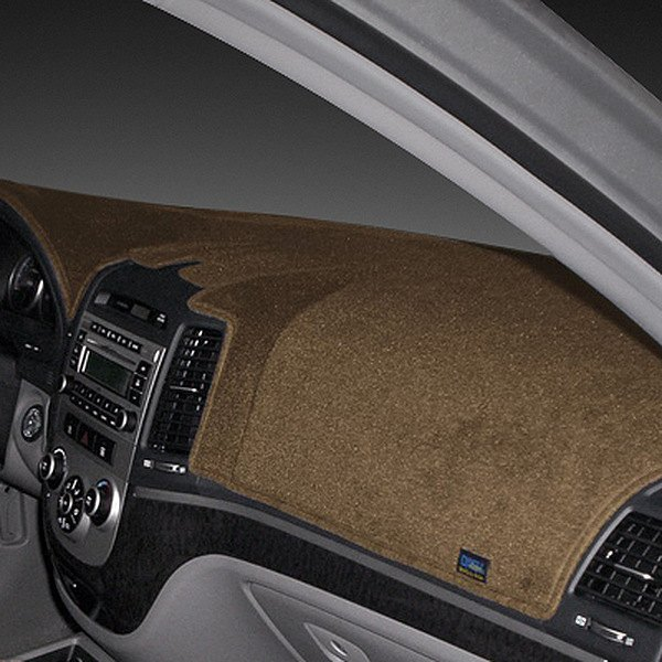 Image may not reflect your exact vehicle! Dash Designs® - Poly Carpet Mocha Dash Cover