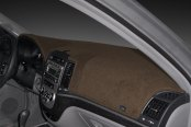 Image may not reflect your exact vehicle! DASH DESIGNS® - Poly Carpet Taupe Dash Cover