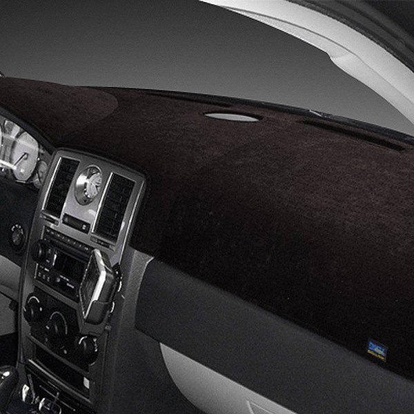Image may not reflect your exact vehicle! Dash Designs® - Sedona Suede™ Black Dash Cover
