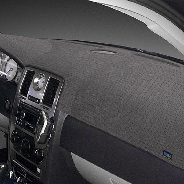Image may not reflect your exact vehicle! Dash Designs® - Sedona Suede™ Charcoal Dash Cover