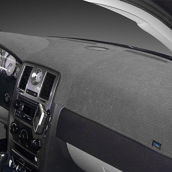 Image may not reflect your exact vehicle! Dash Designs® - Sedona Suede™ Gray Dash Cover