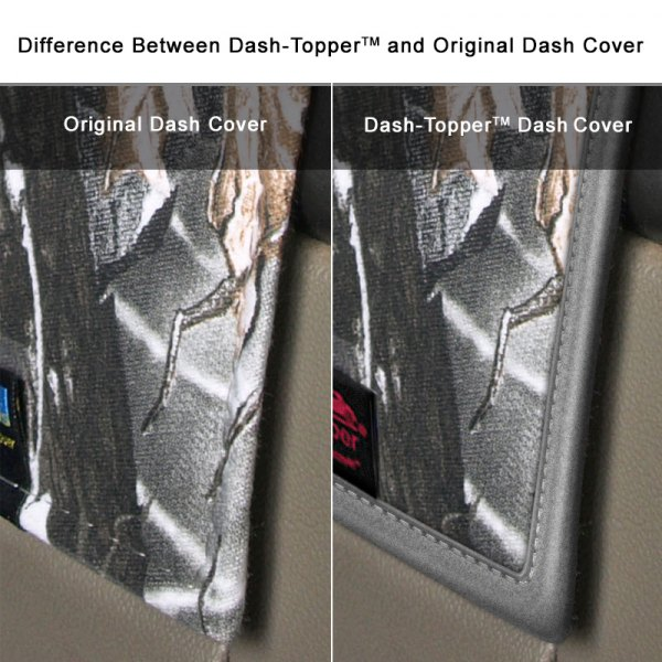 Dash Designs® - Difference Between Dash-Topper™ and Original Dash Cover