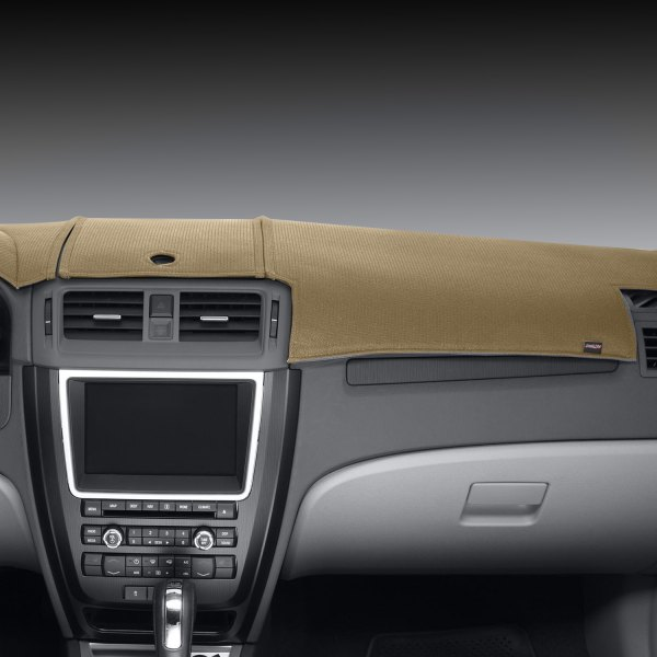 Image may not reflect your exact vehicle! DashMat® - Limited Edition™ Beige Polyester Custom Dash Cover